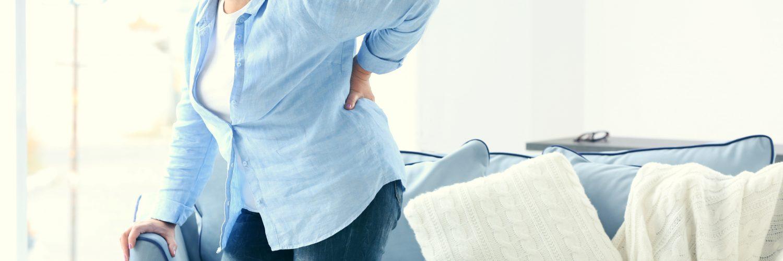 sposób na ból pleców kobieta odcinek lędźwiowy