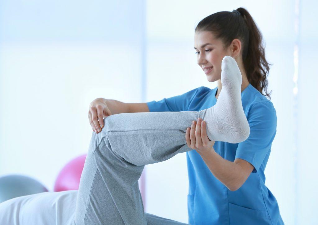 Bolące kolano - rehabilitacja