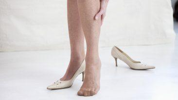 zylaki wibroterapia nogi kobiety