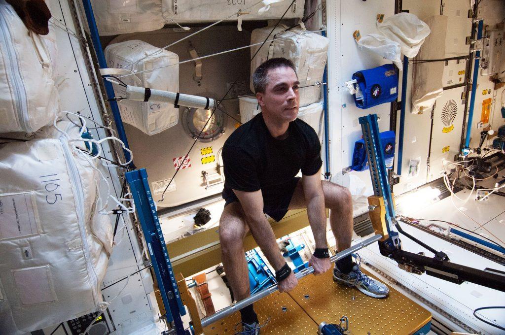 nasa kosmonauta trening