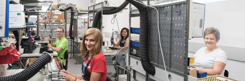 Vitberg Wibroterapia-Producja- dział elektroniki silnik
