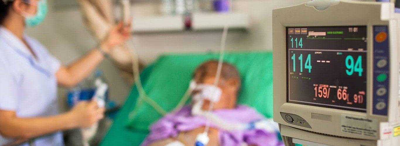 Pacjent na OIOM
