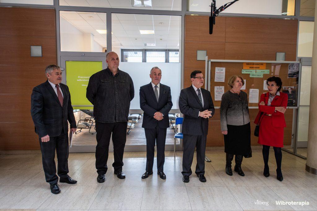 otwarcie pracownii wibroterapii krakowska akademia vitberg