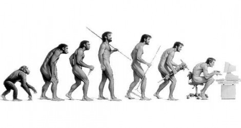 Ewolucja człowieka - siedzący tryb życia