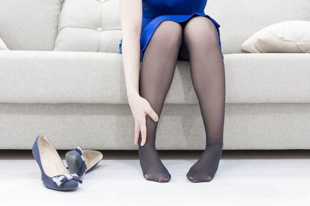 Ból nóg a noszenie wysokich obcasów