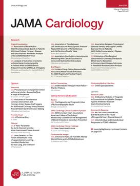 JAMA Cardiology - okładka czasopisma
