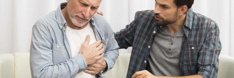 Koronawirus a serce - ból w klatce piersiowej jako jedno z powikłań